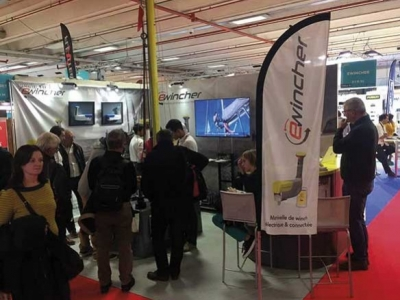 Great success of Ewincher in the 2017 Nautic Boat show