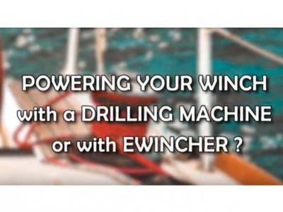 Powering your winch: drilling machine or Ewincher?